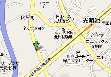 ダイナスティ有限会社 近辺地図