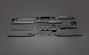ハイエース200系1型2型3型|インテリアパネル15ピース|ダイナスティ