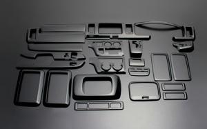 ハイエース200系1型2型3型|インテリアパネル25ピース|ダイナスティ