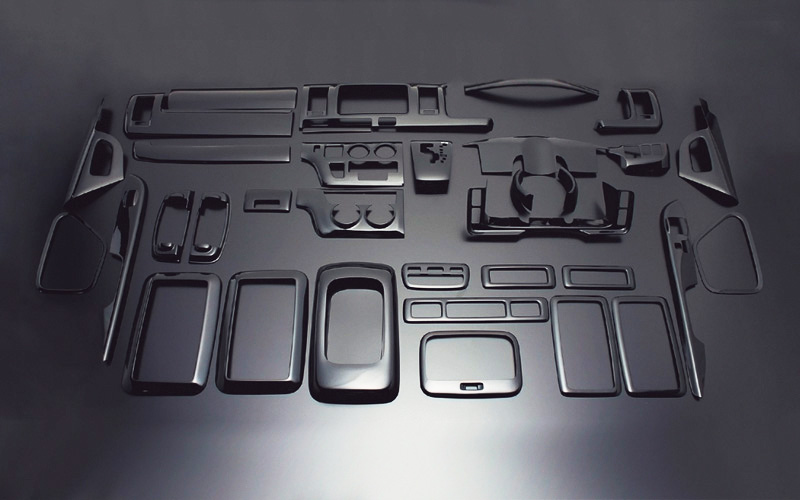 ハイエース200系1型2型3型|インテリアパネル35ピース|ダイナスティ
