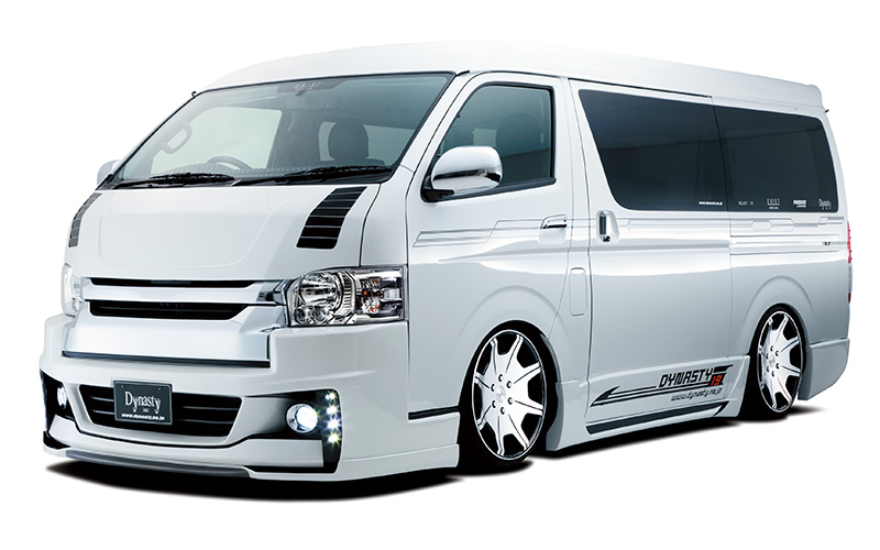 EXIST HIACE4 WIDE 4連LED DAYLIGHT