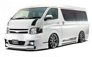 EXIST HIACE3 WIDE 4連LED DAYLIGHT