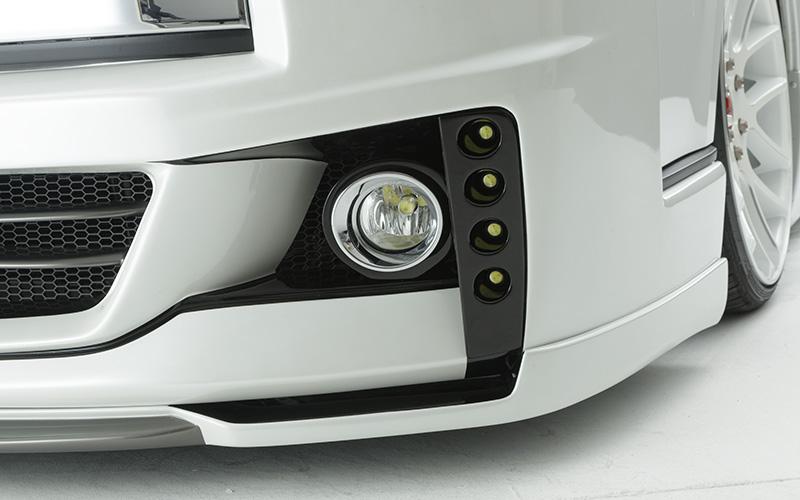 ダイナスティ Dynasty ハイエース4型 4連LEDデイライト