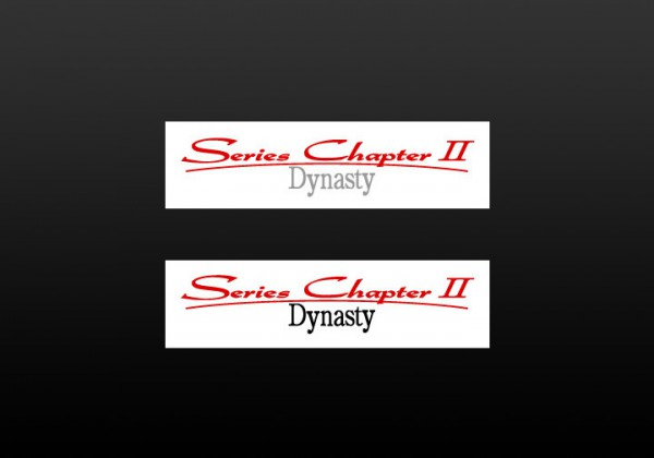 ACCESSORY|Series Chapter 2 ステッカー|ダイナスティ