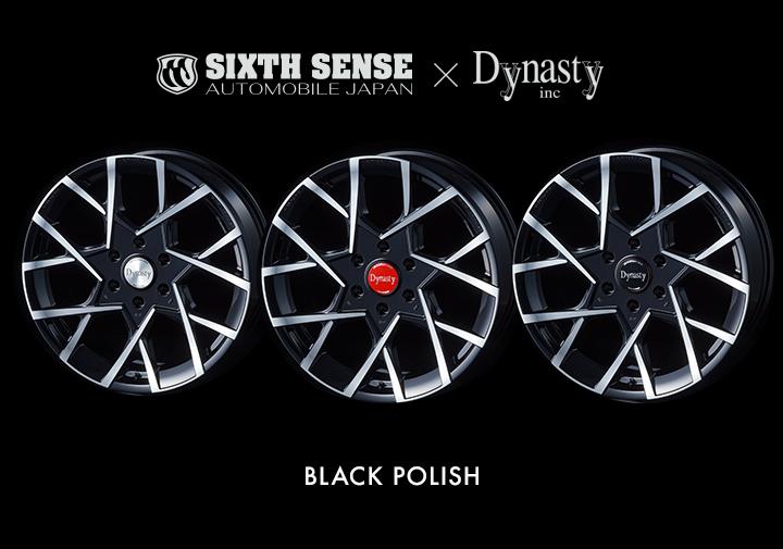 VELVET VC-DS7 Dynasty ダイナスティ ホイール シックスセンス コラボ SIXTH SENSE